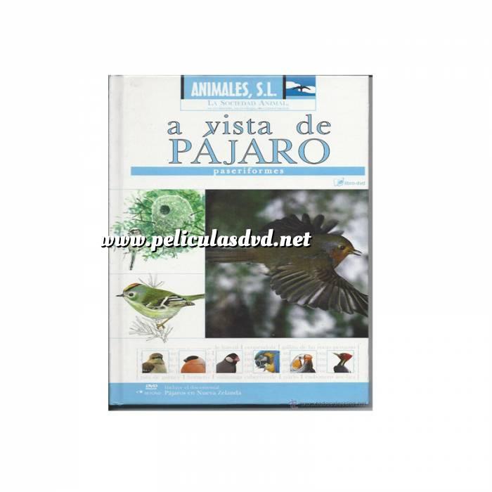 Imagen Animales S.L. DVD Animales S.L. - A vista de pájaro. Paseriformes (Últimas Unidades)