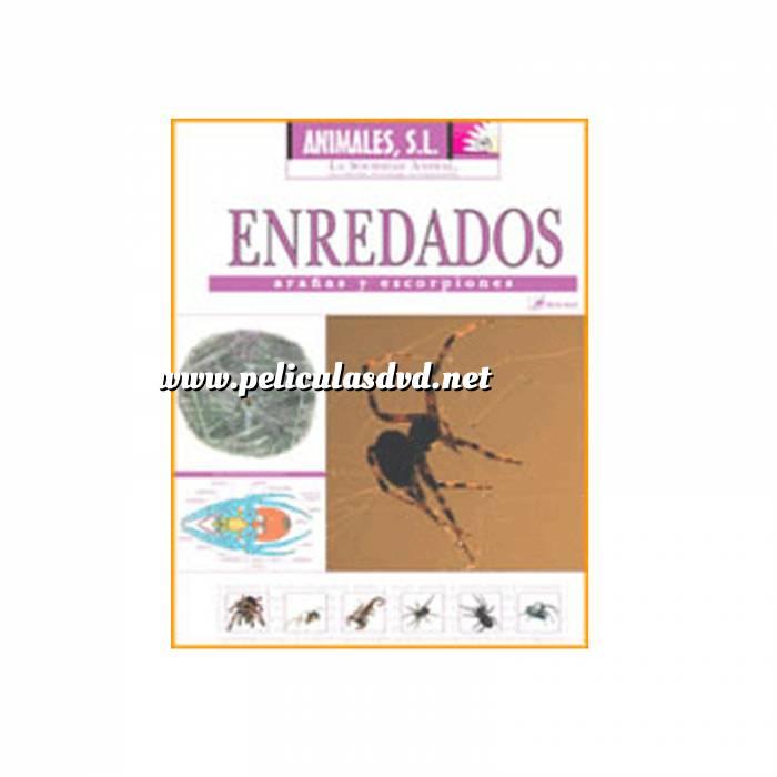 Imagen Animales S.L. DVD Animales S.L. - Enredados. Arañas y escorpiones (Últimas Unidades)