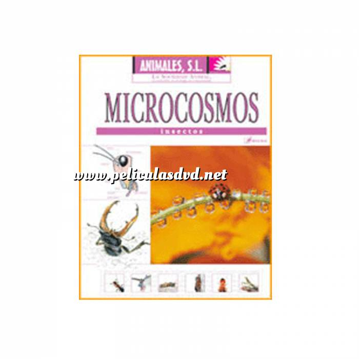 Imagen Animales S.L. DVD Animales S.L. - Microcosmos. Insectos (Últimas Unidades)