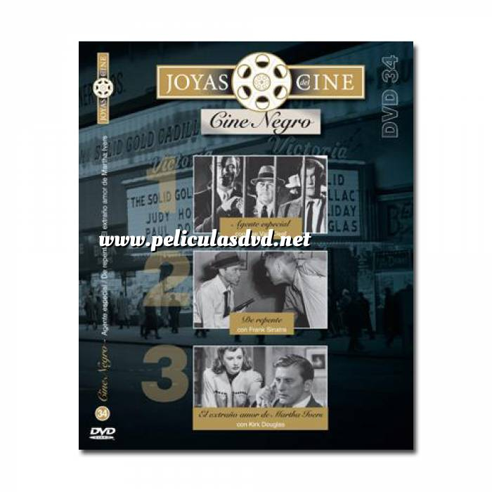 Imagen Joyas del cine Joyas del Cine 34 - Cine Negro - Agente Especial / De Repente / El extraño amor de Martha Ivers (Últimas Unidades)