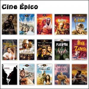 Colecciones CD/DVD_Cine épico