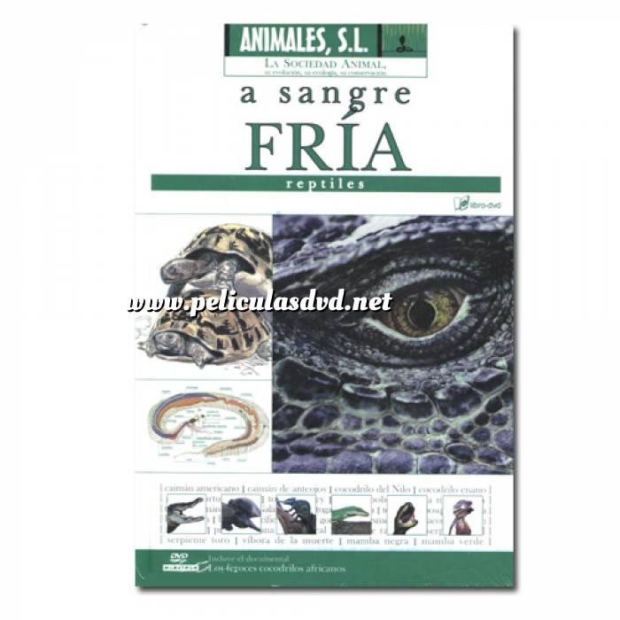 Imagen Animales S.L. DVD Animales S.L. - A sangre fría. Reptiles (Últimas Unidades)