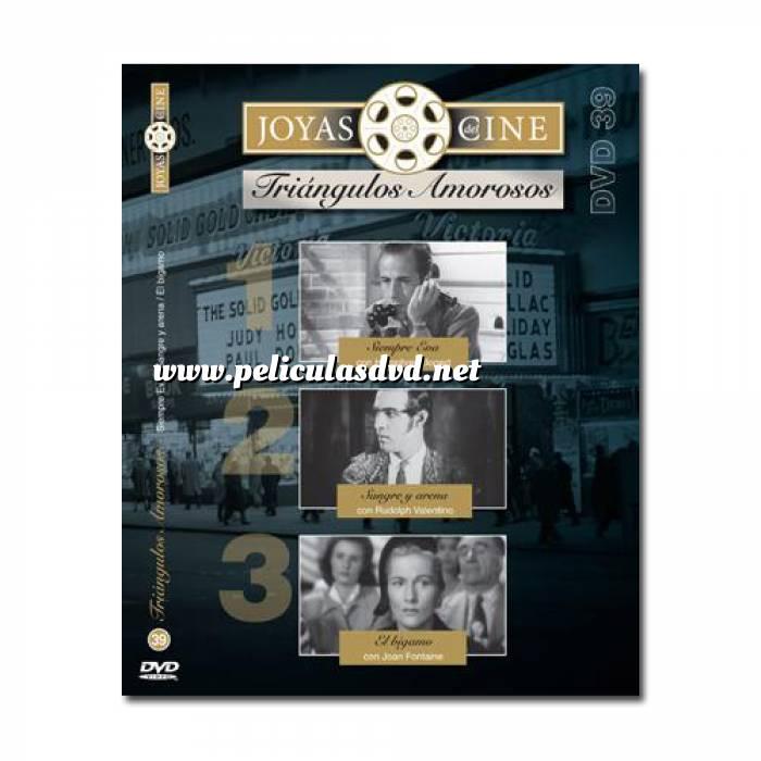 Imagen Joyas del cine Joyas del Cine 39 - Triángulos amorosos - Siempre Eva / Sangre y Arena / El Bígamo (Últimas Unidades)