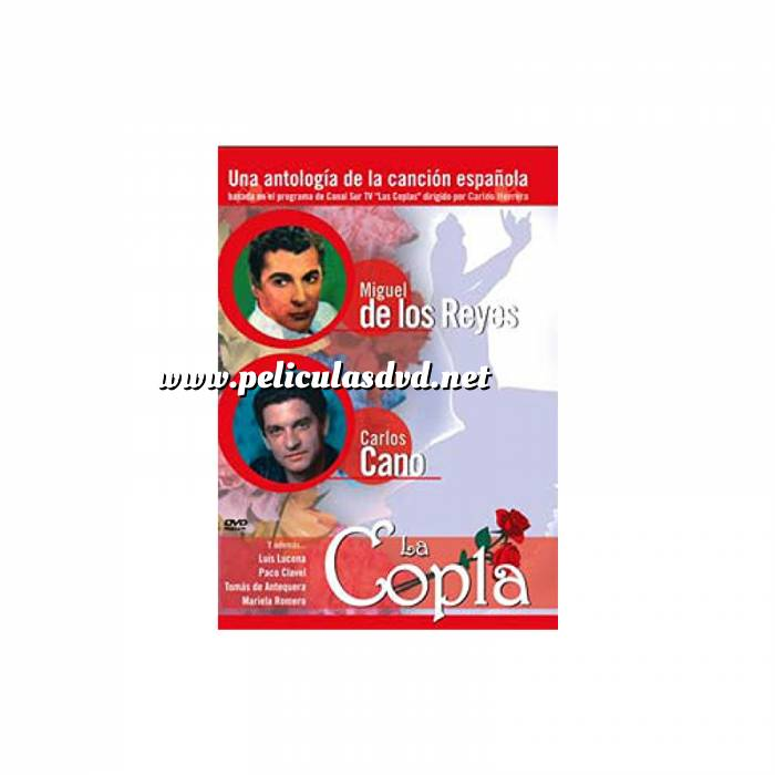 Imagen La Copla La Copla: Miguel de los Reyes y Carlos Cano (Últimas Unidades)