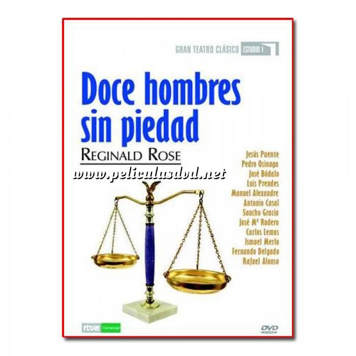 Imagen Teatro Clásico Colección DVD Teatro Clásico en Español - Doce Hombres sin piedad (Últimas Unidades)