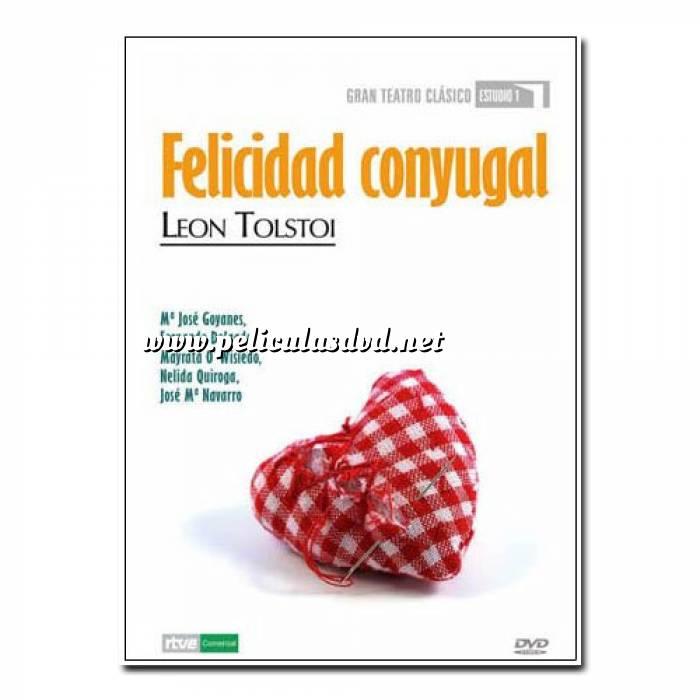 Imagen Teatro Clásico Colección DVD Teatro Clásico en Español - Felicidad Conyugal (Últimas Unidades)