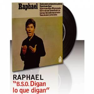 Discos de Vinilo - Raphael - BSO Digan lo que digan - Vinilo (Últimas Unidades)